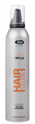 lisap high-tech high tech mousse brushing 300 мл. мус нормальной фиксации