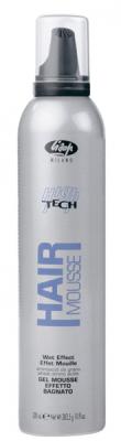 lisap high-tech high tech mousse wet effect 300 мл. эффект мокрых волос